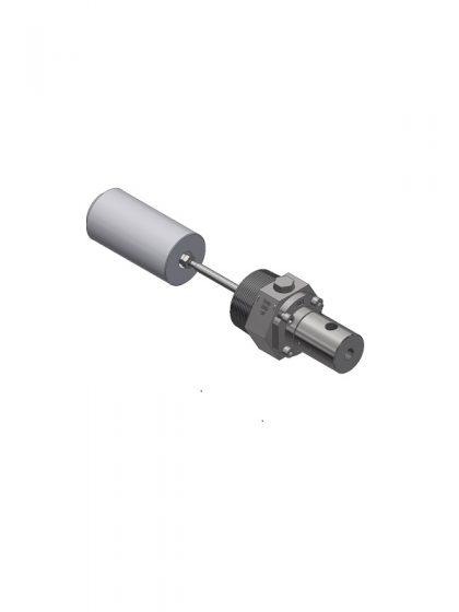 2″ NPT Pneumatic 3-Way (Model 30C2)